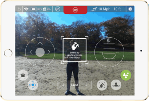Neurala Selfie Dronie Screen Shot In Park