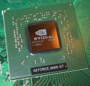 nVidia_6600GT_GPU