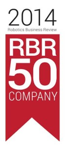 Robotics Business Review Top 50 Logo 2014