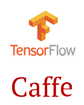 tTensorFlow and Caffe
