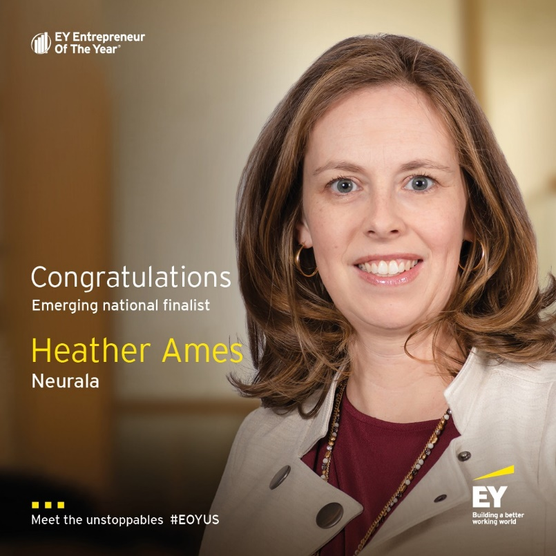 Heather Ames Named National Finalist for Entrepreneur of The Year