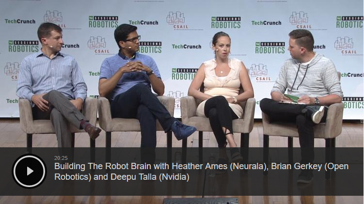 Helping to Find Lost Children: TechCrunch Robotics Event