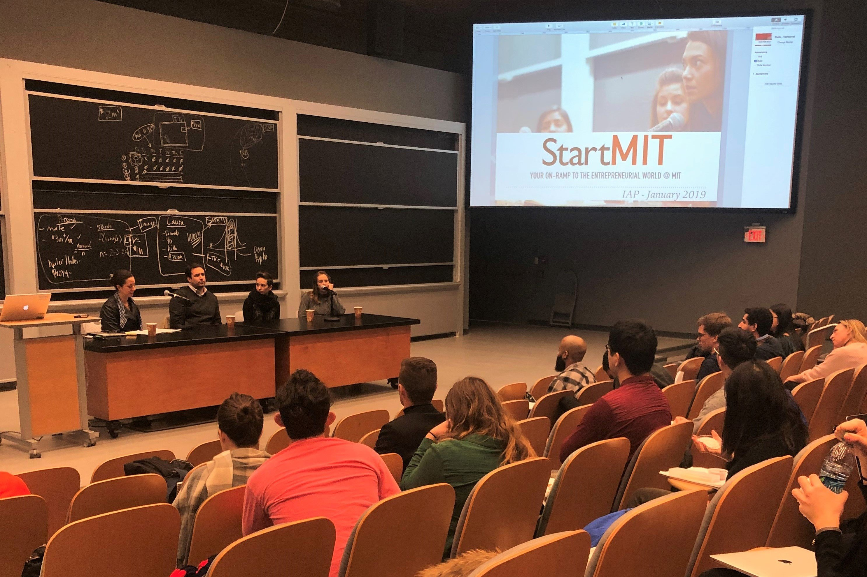 Heather Ames Joins a Panel at StartMIT to Give Insight to MIT Students Interested in Entrepreneurship.