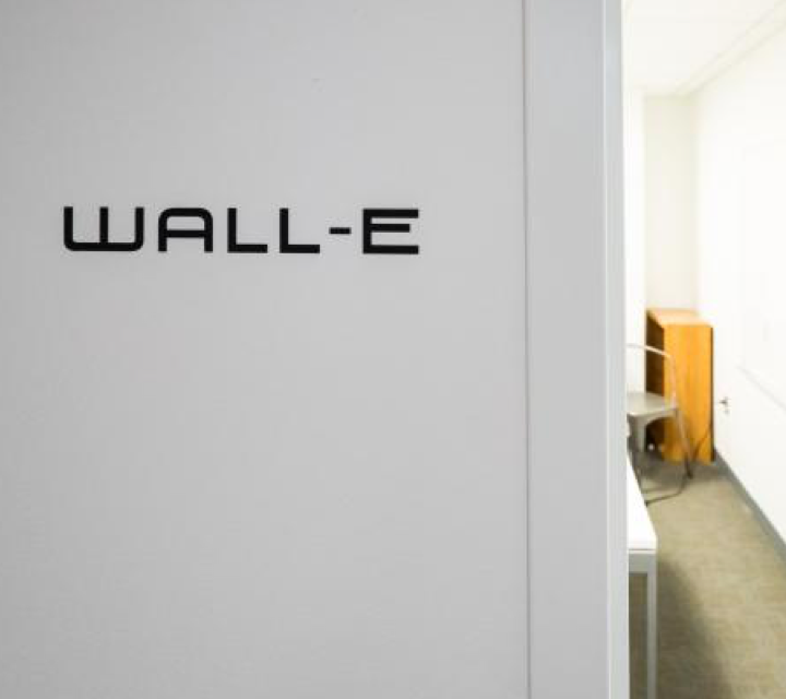 Wall-E Wall Decal Neurala Office